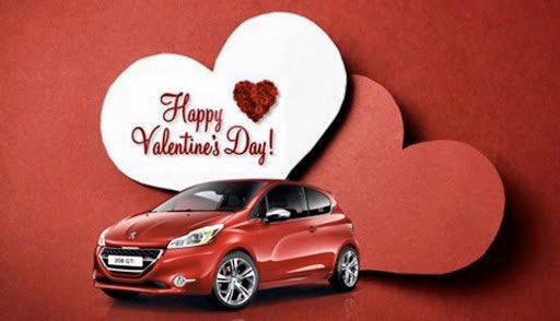 How will you be treating your loved one this #ValentinesDay? ... and by loved one we of course mean your @Peugeot . pic.twitter.com/2HKKhNACTF