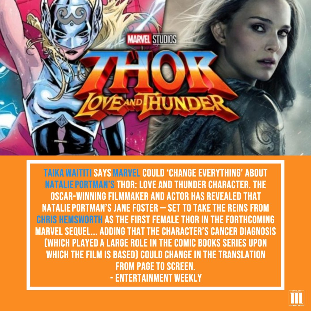 Verified What would you like to see happen in the upcoming #thorloveandthunder film? #movienews #marvel #marvelcomics #taikawaititi