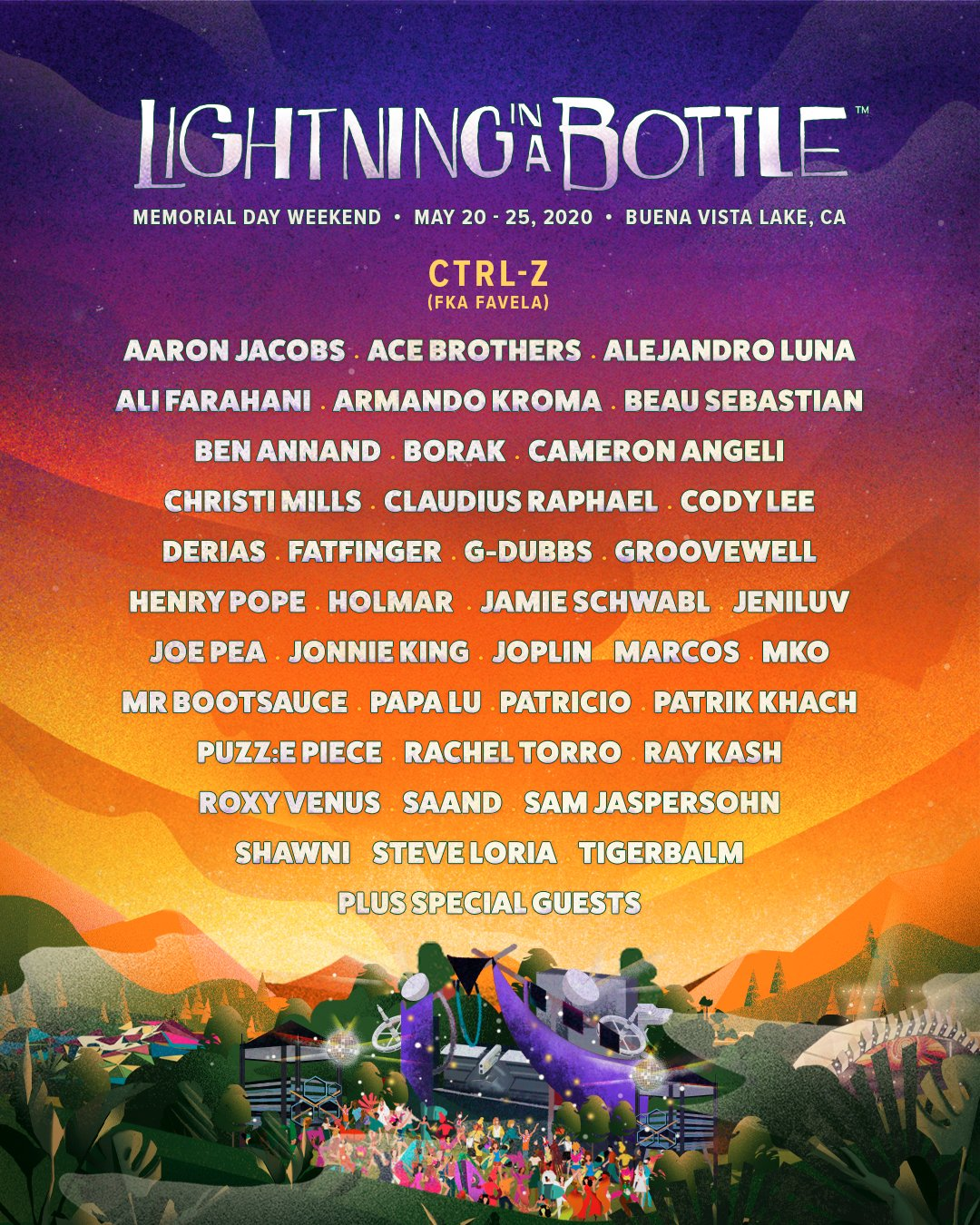 Lightning in a Bottle 2020 lineup