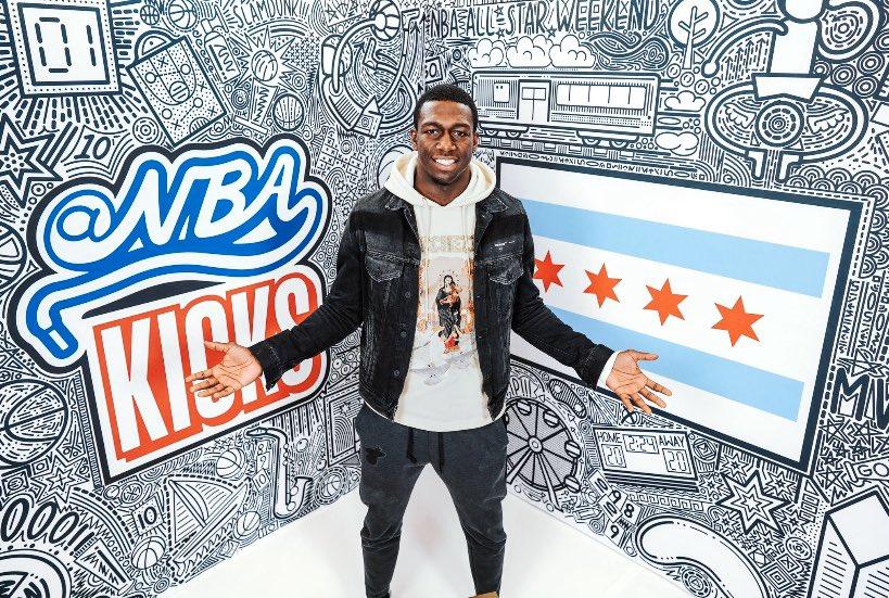 Chicagooooo I'm back!! #Allstar2020