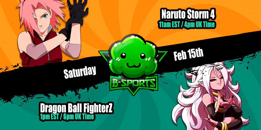 Premium Bush Tournaments this Saturday! Storm 4 is back due to popular vote. Should be fun. We'll be live on Twitch