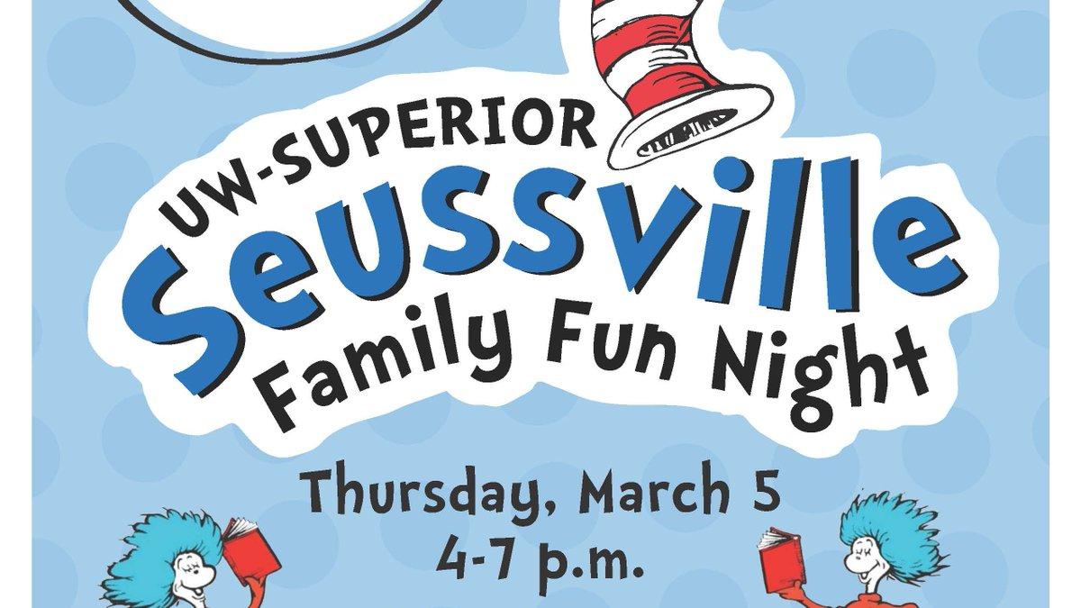 Save the date for the 7th annual Seussville Family Fun Night! https://t.co/eWPLVSfmYW https://t.co/kwu4PqYE9K
