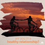 Image for the Tweet beginning: Is your relationship healthy? Are