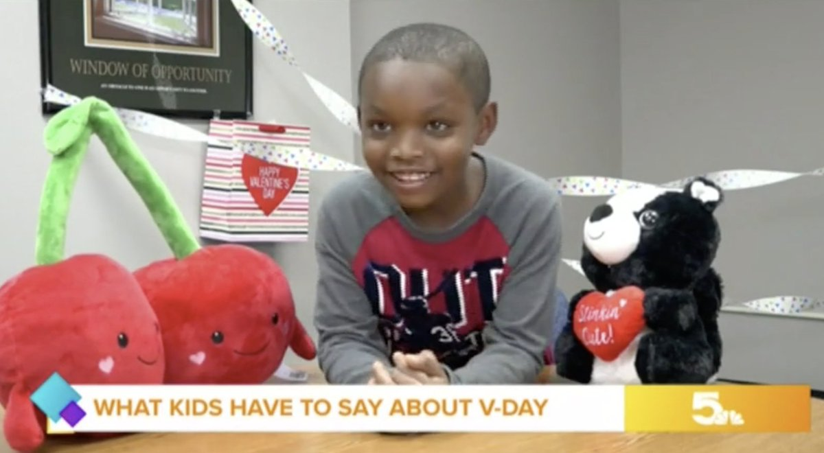 What is love? See what kids have to say about V-day.