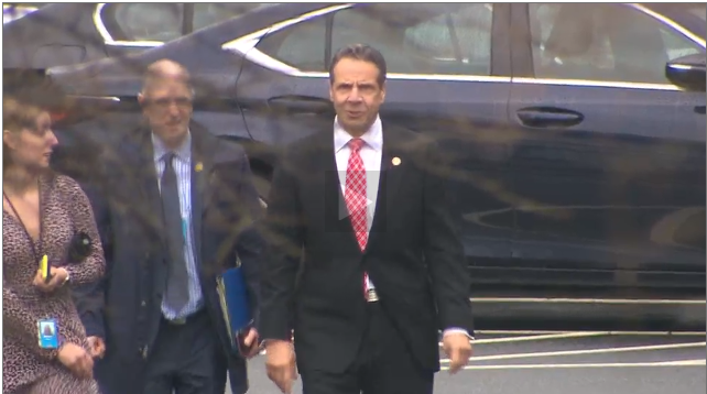 Gov. Cuomo has arrived at the White House.