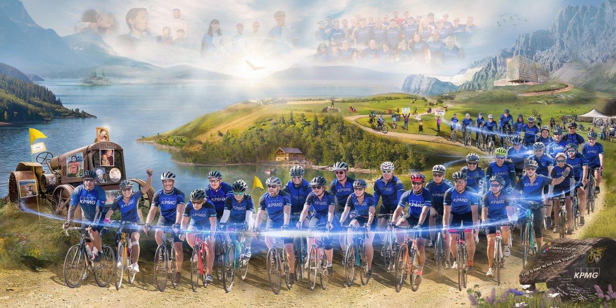 Team KPMG will Ride in the 12th annual Ride to Conquer Cancer for the 12th time!   This amazing team has raised over $827,000 which has supported breakthrough research, exemplary teaching, and compassionate care at @albertacancer    Support their work https://t.co/edK6wgaMYE ! https://t.co/qAC4J6RB1L