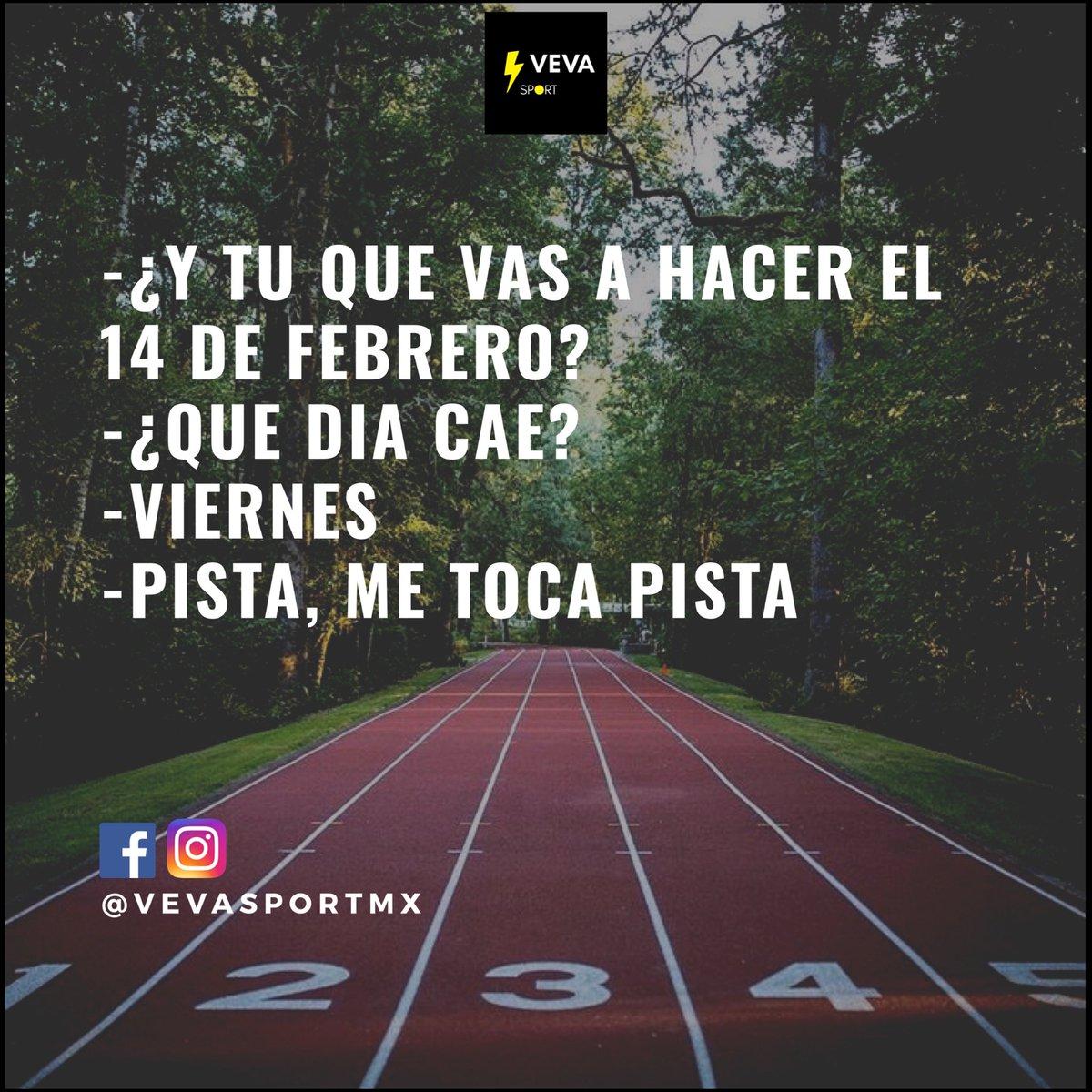 Y si... toca pista #soycorredora @LoveRunSmile @EntreRunners #CorrerEsMiPasion #corrermehaensenado #YoElegiCorrer #SanValentin2020 #SanValentin #VevaSport pic.twitter.com/j9RtmFUbyY