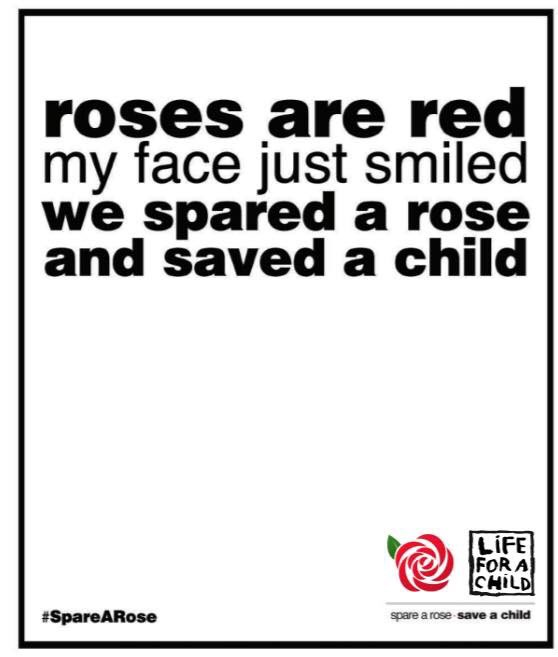 Just donated!! @SpareARose