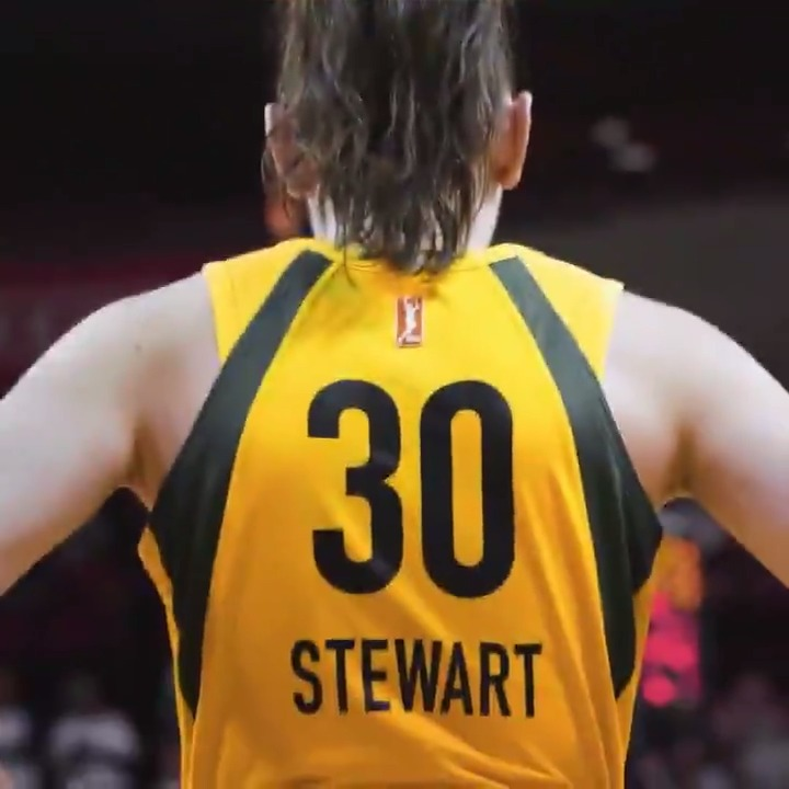Olympian 🥇 All-Star 🌟 WNBA Champ 🏆 MVP 💪  Let's see how long the list can get 👀   @breannastewart  #StrongerThanEver