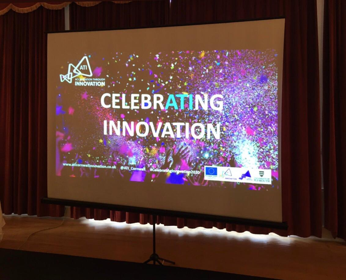 ATI celebrated supporting 600 businesses, working intensively with 145, awarding 48 innovation grants and opening 8 Pop-up Innovation Centres. #CelebratingInnovation2020 in Cornwall @AtlanticHotel_ @ATI_Cornwallpic.twitter.com/P44XMCr6OK