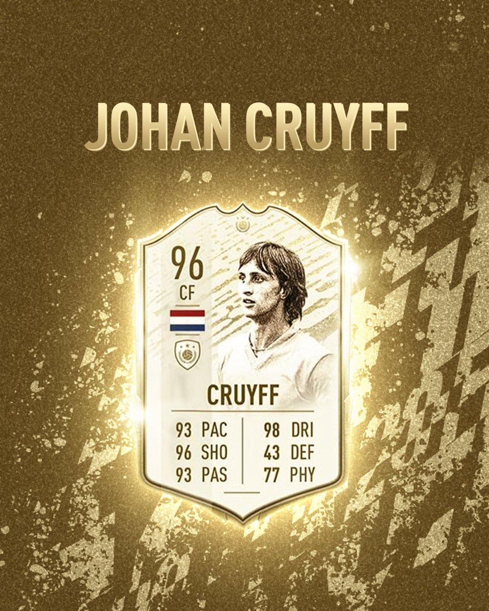 🔥 New Icon rating for Johan. Thoughts? 🎮 #CruyffLegacy