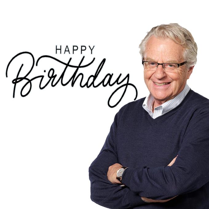 Happy Birthday, Jerry Springer!