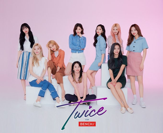 Twice x Bench / Twice for Bench - Jeongyeon Jihyo Dahyun Nayeon ...