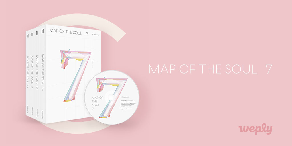 #BTS MAP OF THE SOUL : 7 Album Cover Revealed! 💜 Go to Big Hit Shop USA now and see whats inside the album! 📅Pre-order ends on 20 Feb, 11:59 PM (KST) Shop on #BigHitShopUSA for cheaper & faster shipping! 👉 bit.ly/btsmapofthesou… #MAP_OF_THE_SOUL_7