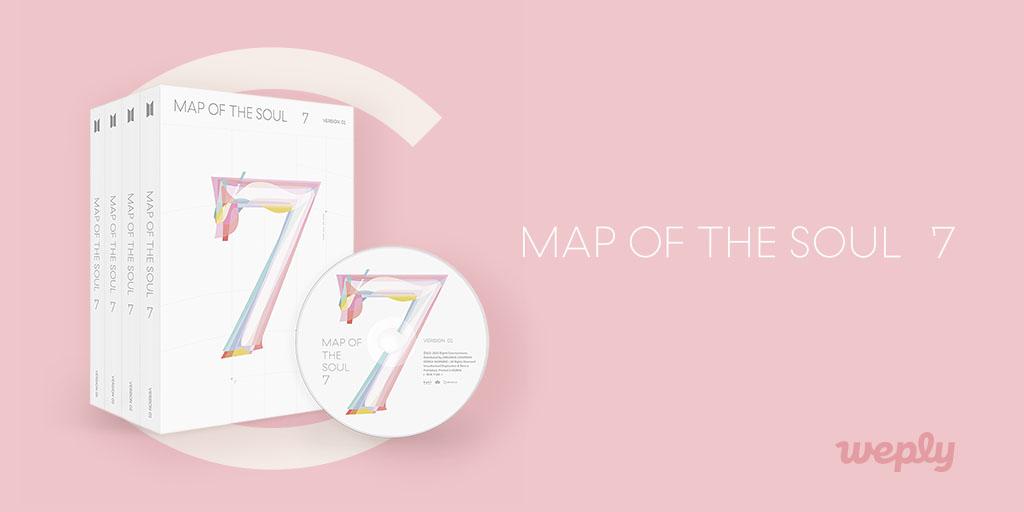 #BTS MAP OF THE SOUL: 7 ¡Revelada la portada del álbum! 💜 ¡Mira lo que hay dentro del álbum! 📅Reserva finaliza el 20 de febrero a las 11:59 p.m. (KST) ¡Compre en #BigHitShop USA por envío más baratos y rápido! 👉 bit.ly/btsmapofthesou… #MAP_OF_THE_SOUL_7