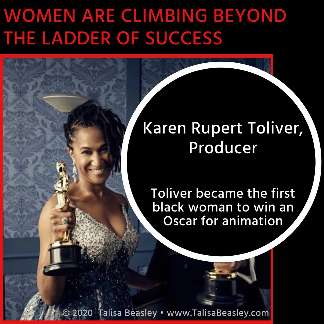 One of the producers of 'Hair Love' just broke a glass ceiling.  Read more about this accomplishment here: https://tinyurl.com/sr33fu4   #womenempowerment #womenwithambition #womenwholead #BusinessWomenLifeStyle #womenexecutives #glassceiling #blackhistorymonth #blackhair #hairlovepic.twitter.com/5XOap4M8PS