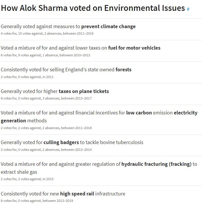 @James_BG 'Generally voted against Climate Change' - yep sure that'll do it 🙄😰💩