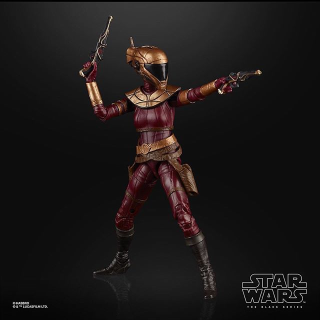 """Swipe to reveal bonus feature that we all wanted of #zoriibliss 6"""" action figure announced  via hasbropulse #starwars  #blackseries https://www.instagram.com/p/B8heOxFghQR/pic.twitter.com/uly27Xbqqu"""