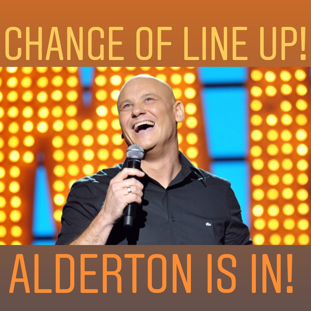 CHANGE OF LINE UP ALERT! Phil Nichol has been moved to April 6, which means this Monday will be headlined by the amazing @TerryAlderton! Reserve ticket here: https://www.eventbrite.co.uk/e/hoopla-fresh-tickets-85761917203?aff=erelexpmlt … Also ft.  @JayAllerton @floodhaha @dariustabai #freelondon #mysecretlondon #londoncomedy pic.twitter.com/BUUqtJy6eg