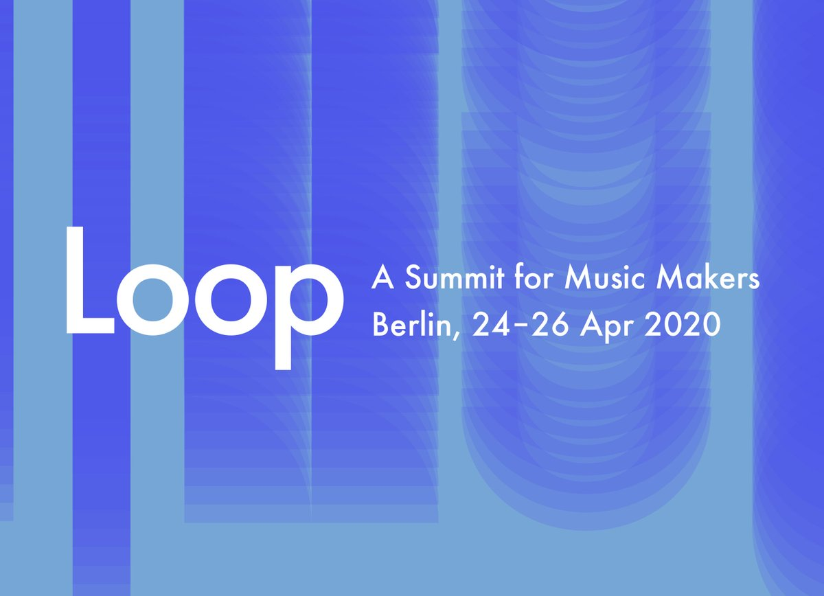We're stoked to announce that #LANDR will be participating in @Ableton Loop this April!   What better way to empower emerging #artists than through workshops and panel discussions. Catch us in #Berlin from April 24-26. #abletonloop  See here for more info: https://bit.ly/31QmkBK