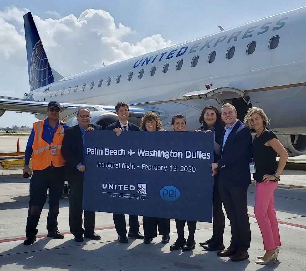 We are ready to deliver - Every Customer. Every Flight, Every Day Proudly announcing, new daily nonstop service to Washington Dulles from PBI @auggiie69 @LouFarinaccio @mark_lascola @weareunited #whyiloveao #winningthelines