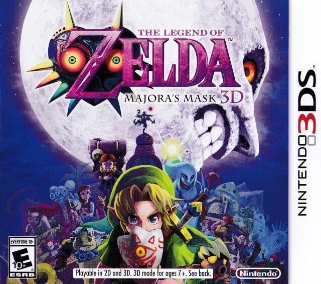 The Legend of Zelda: Majora's Mask 3D for 3ds was released on this day in North America & Europe, 5 years ago (2015)