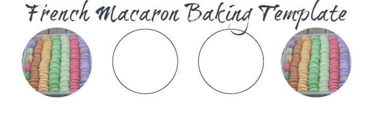 It is a picture of Macaron Printable Template pertaining to flower