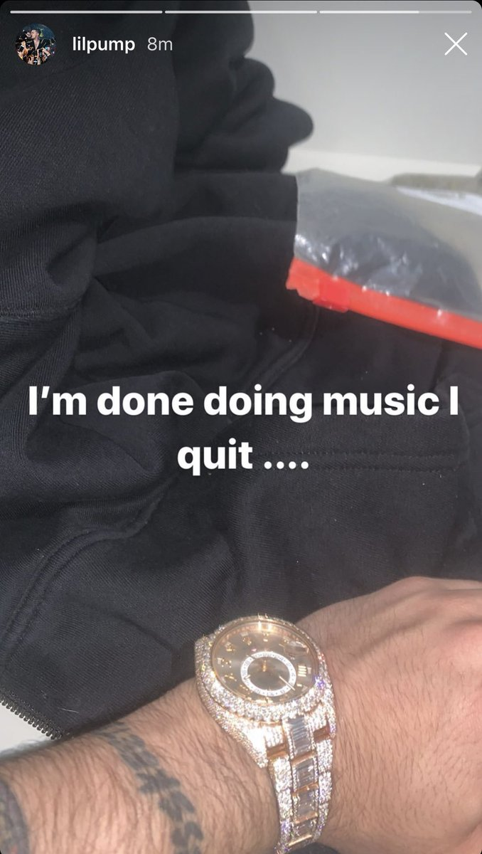 Lil Pump says he's quitting music ... help convince him to change his mind