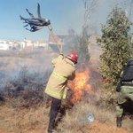 Image for the Tweet beginning: Se sofoca incendio en Lomas