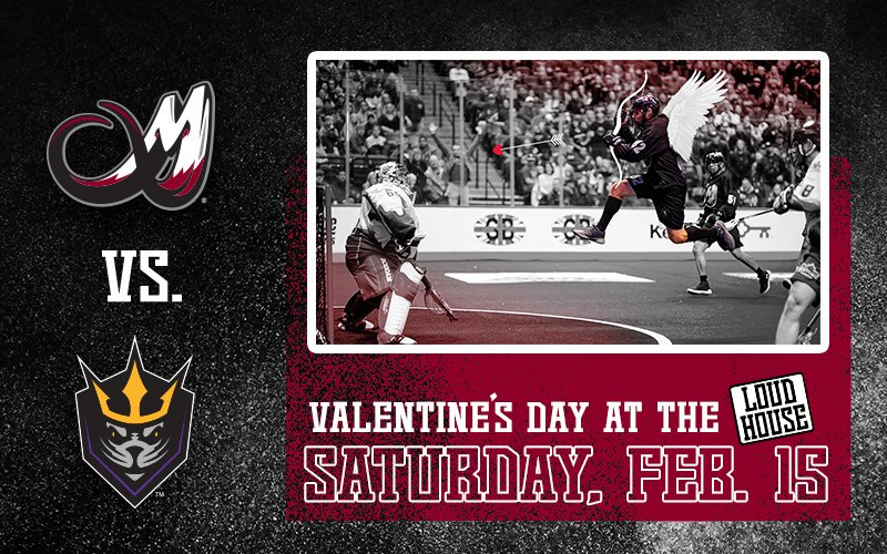 Making plans for Valentine's Day Weekend? The Colorado Mammoth are celebrating and giving you a chance to grab a Party Pack...Don't miss out!  @MammothLax  #TuskUp