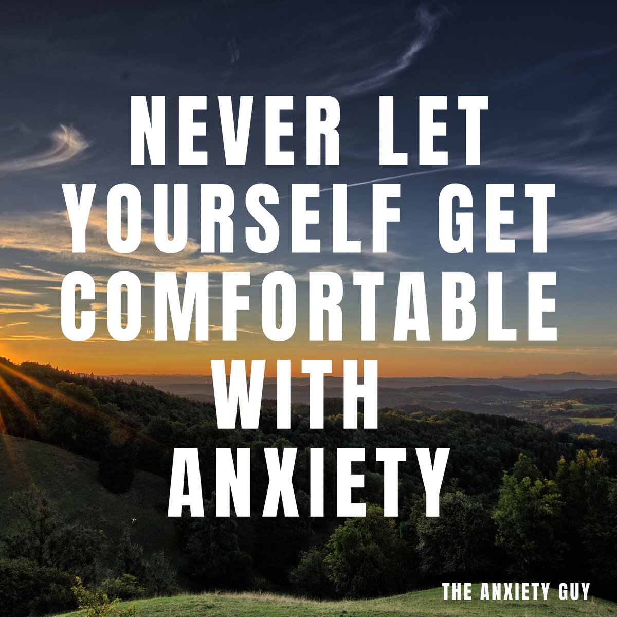 Habits create comfort whether those habits are good for us or bad.  #AnxietyAwareness #MentalHealthpic.twitter.com/1HhJzrxobY