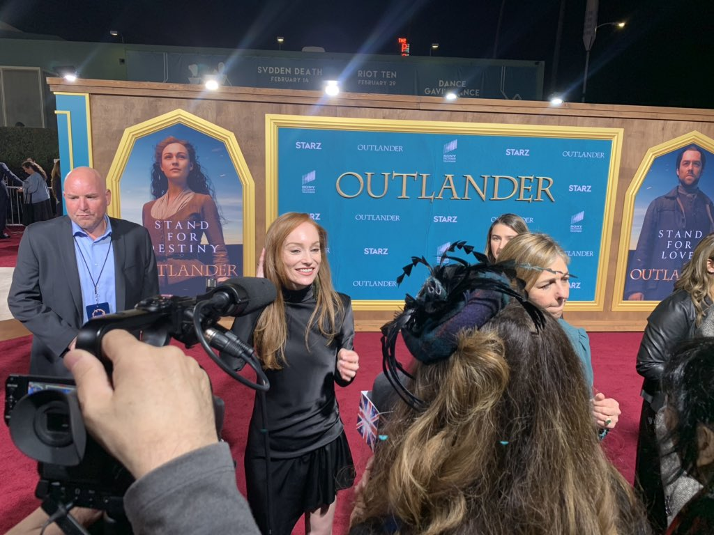 Replying to @AnglophileTV: #OutlanderS5 #Outlander #OutlanderSeason5Premiere #OutlanderPremiere