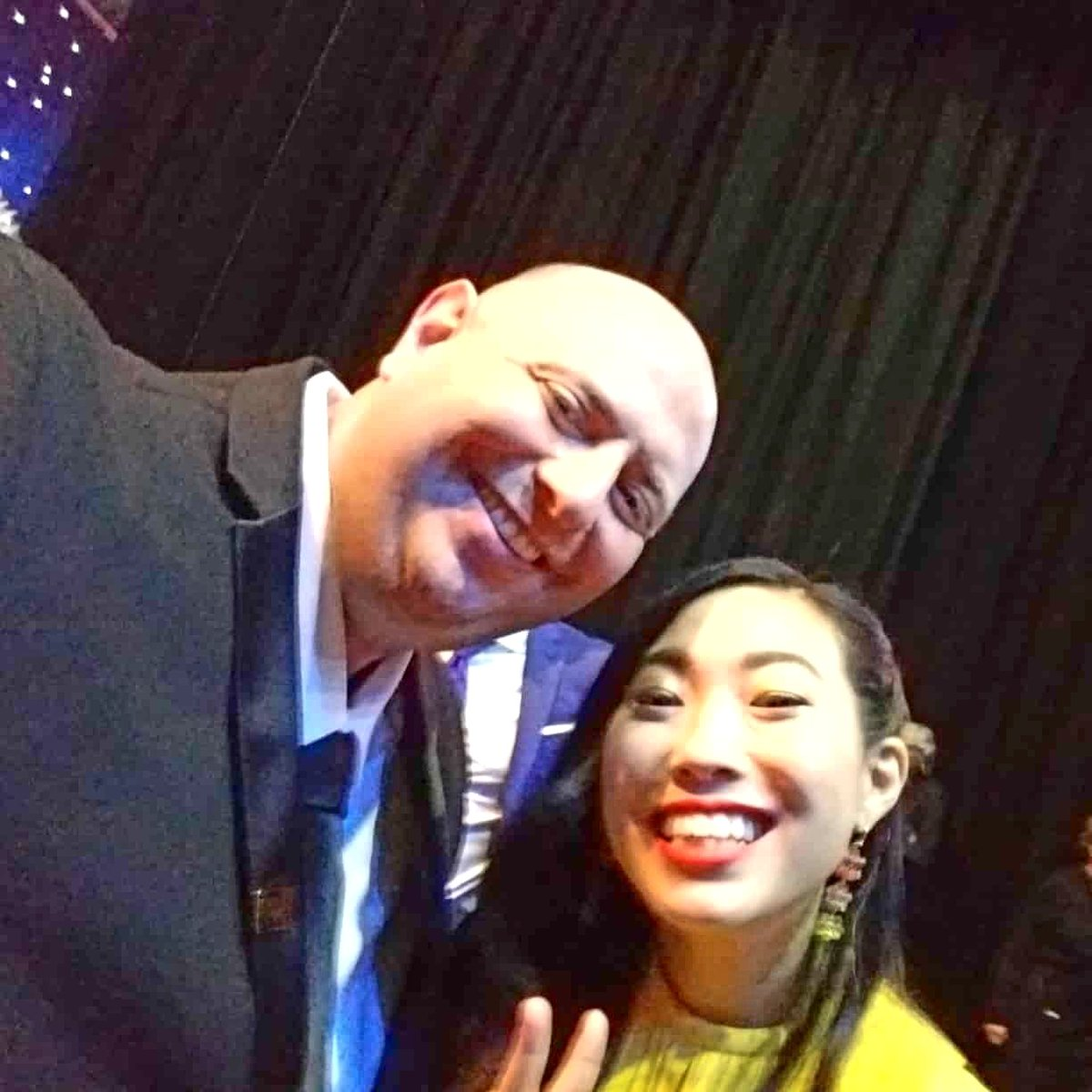 I was told I needed to be more social on social media, so here's a #TBThursday when I met .@awkwafina at the #criticschoiceawards2020. Don't forget to catch #Awkwafina is #NoraFromQueens on @ComedyCentralpic.twitter.com/pOMXpe1HDn