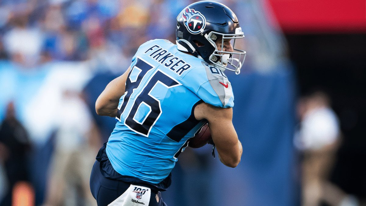 .@Titans agree to one-year contract extension with TE Anthony Firkser. ICYMI bit.ly/2HhRjgH