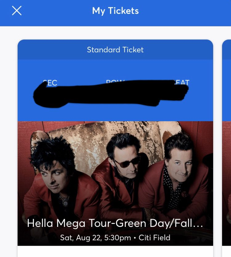 Pretty excited about seeing my boys @falloutboy @GreenDay & @Weezer on the @HellaMegaTour in August! See you there!