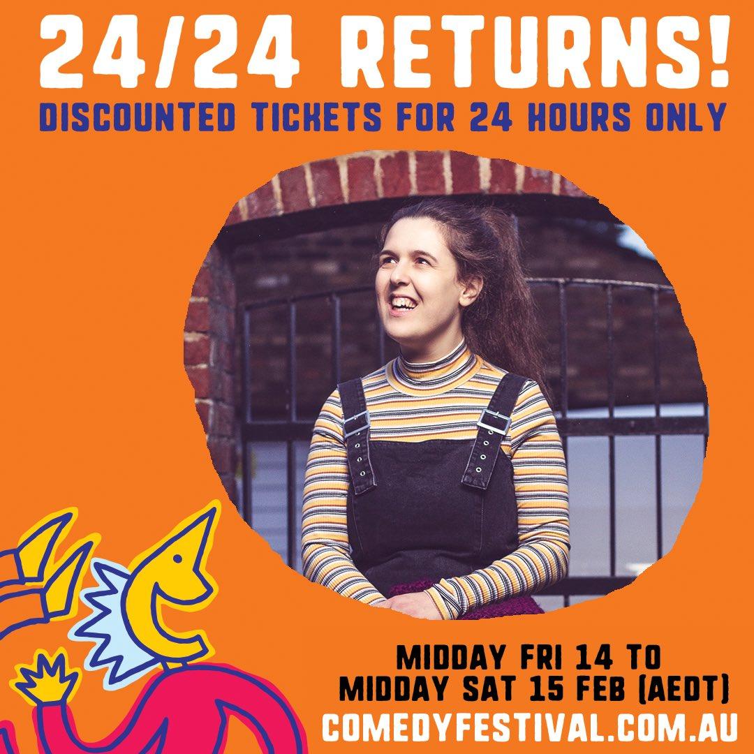 MELBOURNE I AM COMING FOR YOU SO SNAP UP MY CHEAPO TIX! comedyfestival.com.au/2020/shows/ros…