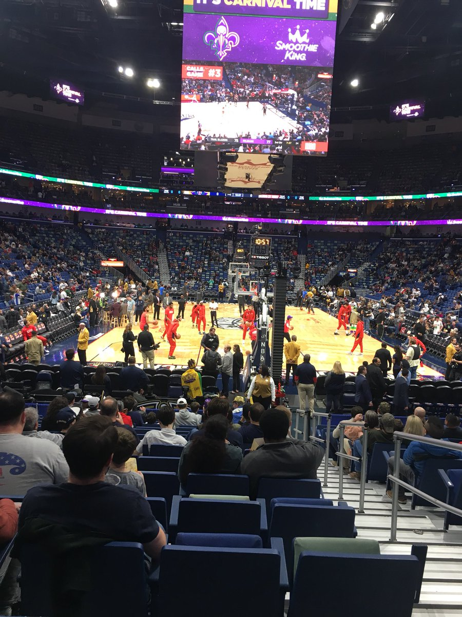 OKC vs Pelicans. It's been too long since I had a nice #ThunderUp