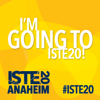 Just registered for #ISTE20 Who's coming with me???
