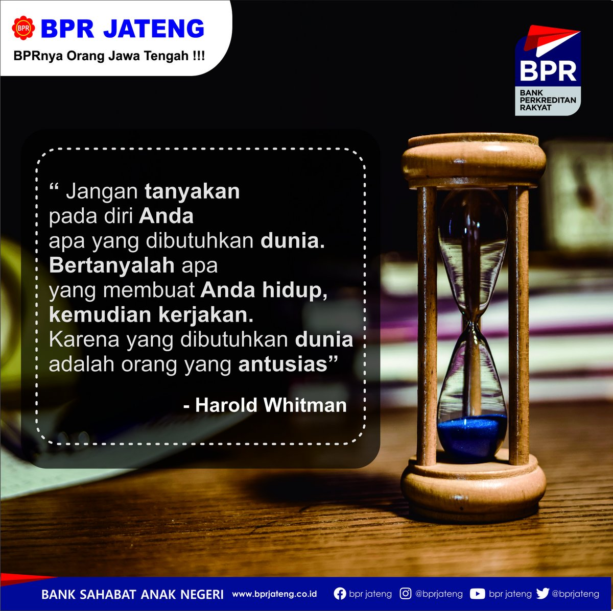 Selamat pagi dunia...   #motivasi #Quote #bprjateng #semarang #Hitssemarang #lokersmg #lokersemarang #Indonesia #KreditCepat #kreditmudah #Kreditmurah #Semangat #Kerjakeras #masadepan #finance #jatenggayeng #jateng #jawatengah #bank #bpr #bankperkreditanrakyat #jawapic.twitter.com/u4QHRaQMgq