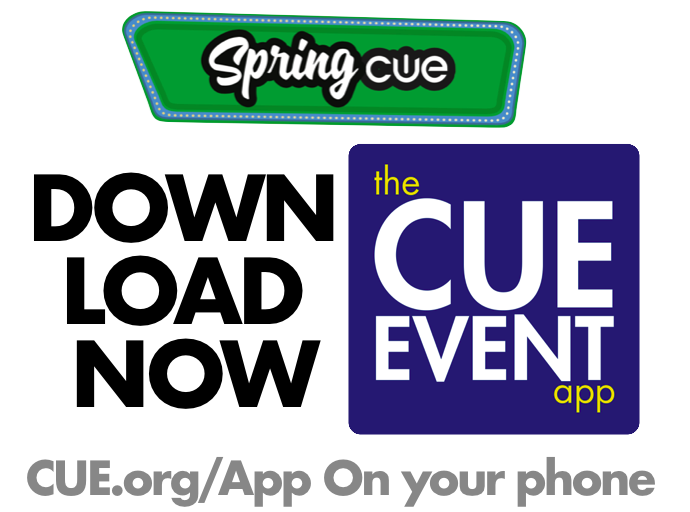The #SpringCUE app is LIVE! Download now to see ALL the AWESOME! #WeAreCUE Your phone wants this. 📲