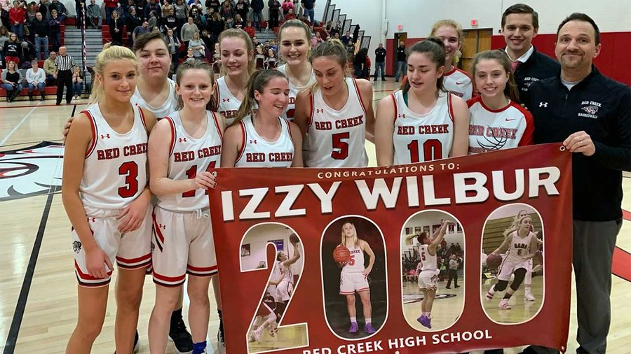 W-FL Thursday: Isabella Wilbur scores 2,000th point; Red Jacket girls win eighth straight; Clyde-Savannah girls defeat ER in double OT