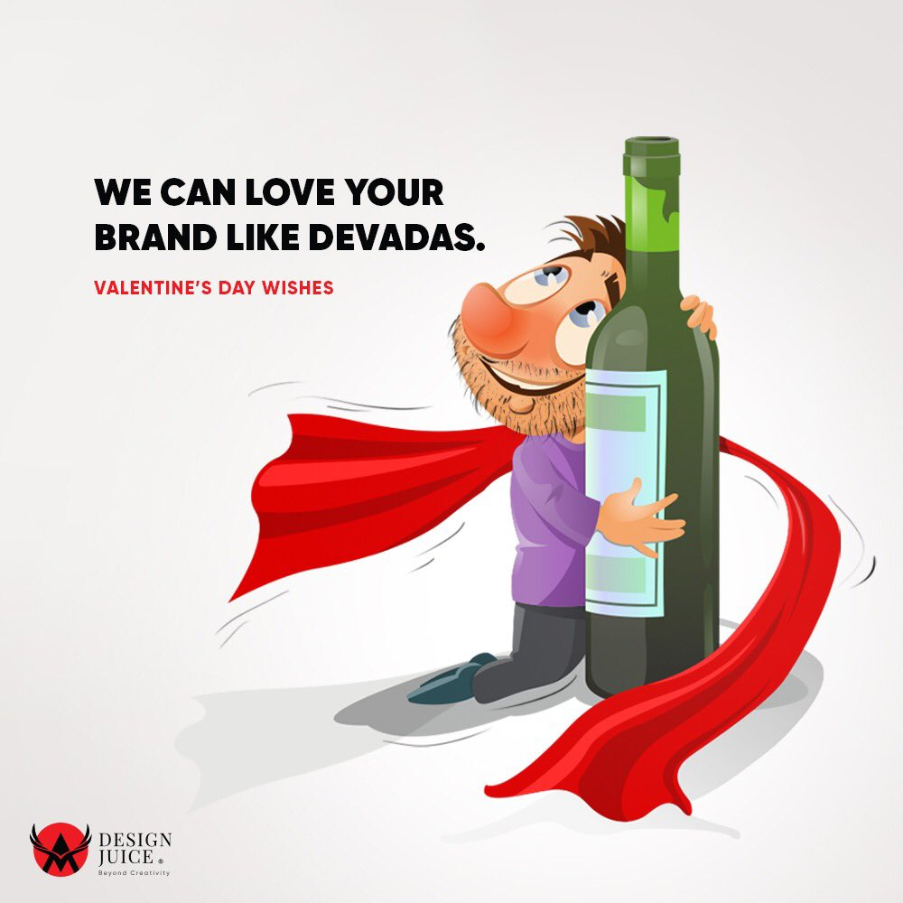 Every other day is a Valentine's Day at Design Juice. Our sheer love for #advertising makes us fall and be in love with the #brands that we're handling. Valentine's Day wishes from Design Juice -  your #BrandDas #ValentinesDay2020 #BrandValentinepic.twitter.com/gF9MIB1Ir6