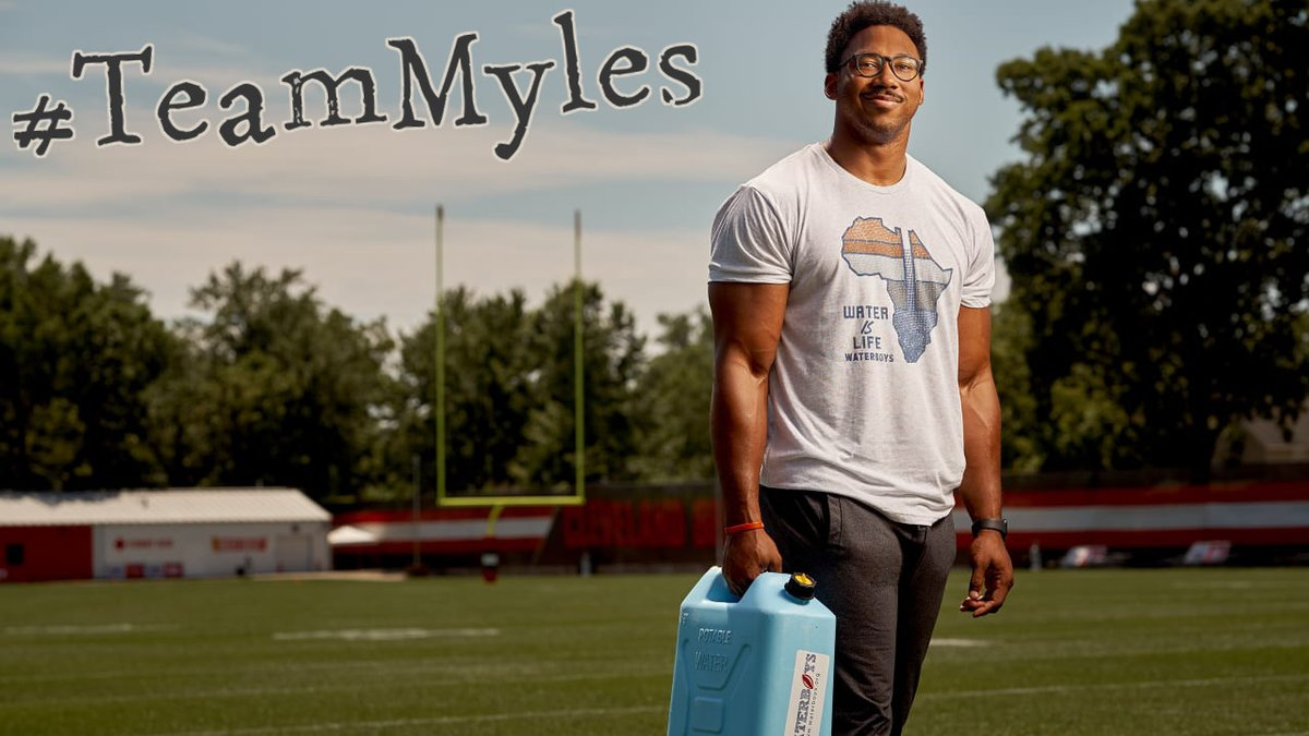 I support Myles Garrett.  We all agree that his retaliation was wrong. But I proudly support a man who has the courage to stand up and say that hate speech & using the 'N-word' is intolerable, whether the NFL still gives it a free pass or not. #TeamMyles #Browns @MylesLGarrett<br>http://pic.twitter.com/xSR1h5exeo