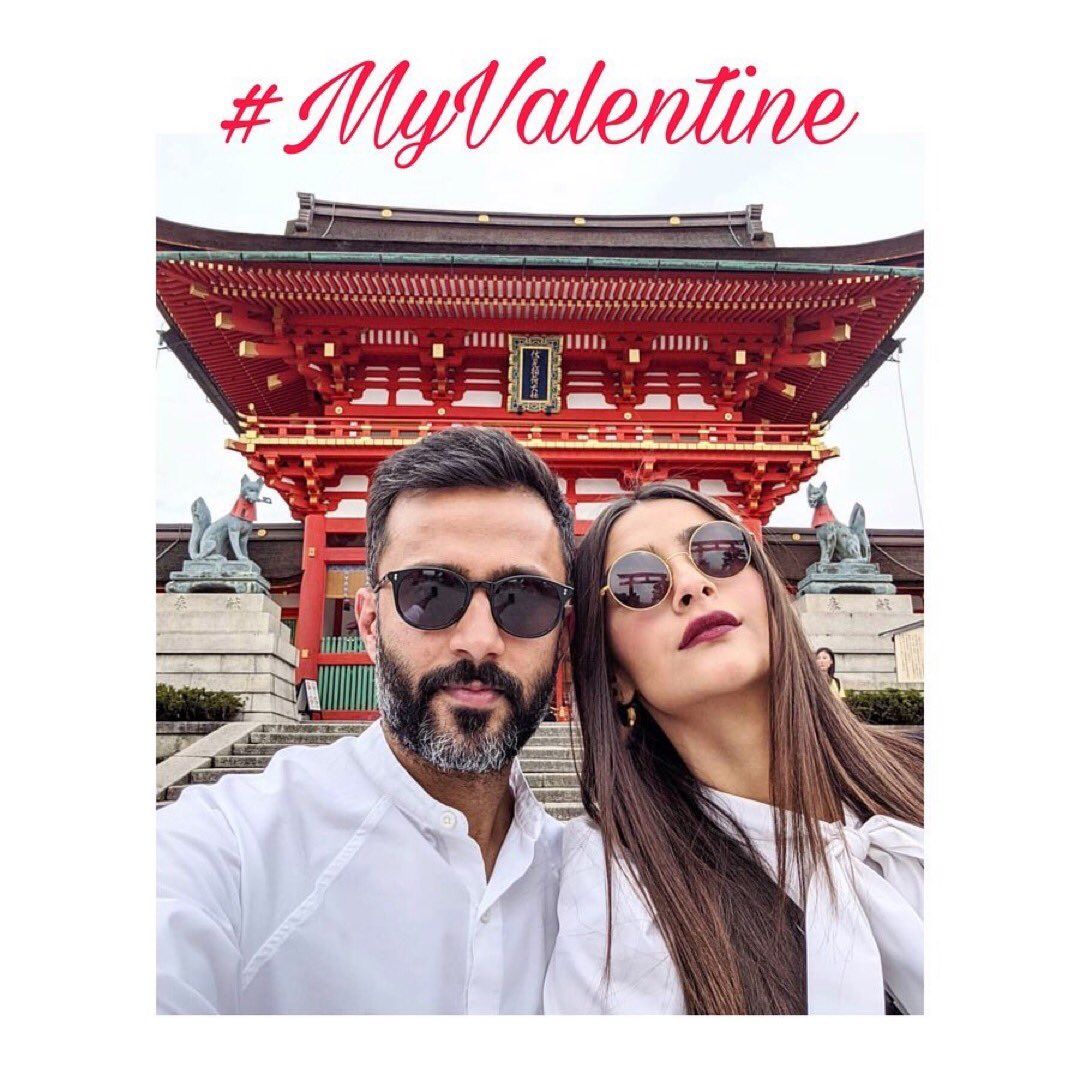 #3Times Sonam and Anand made us fall in love with them ♥️♥️  #ValentinesDay2020 #Valentineday #SonamKapoor #AnandAhuja #love #couplegoals