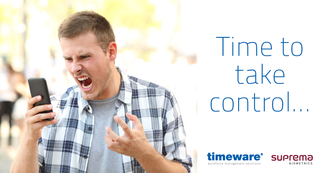 Underpaid staff overtime AGAIN?  It's time to take control with a timeware workforce management solution... http://timeware.co.uk  #timeware #supremainc #timeandattendance #workforcemanagement #accesscontrol #sageuk #genetecpic.twitter.com/BzFrg0Px52