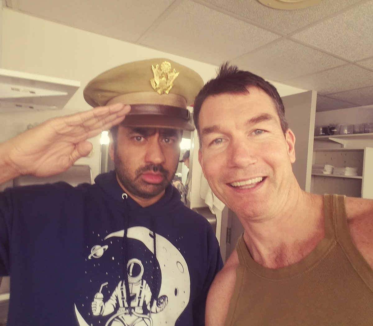 #ASoldiersPlay @kalpenn reporting for duty!