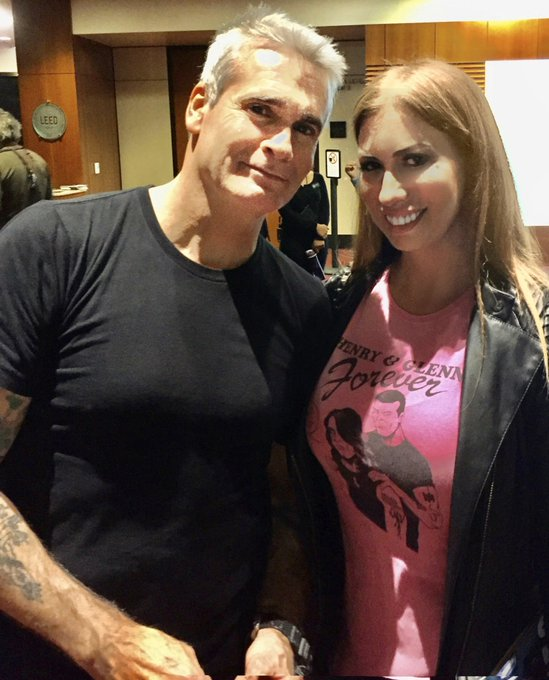 Happy Birthday Henry Rollins! Long live punk rock!
