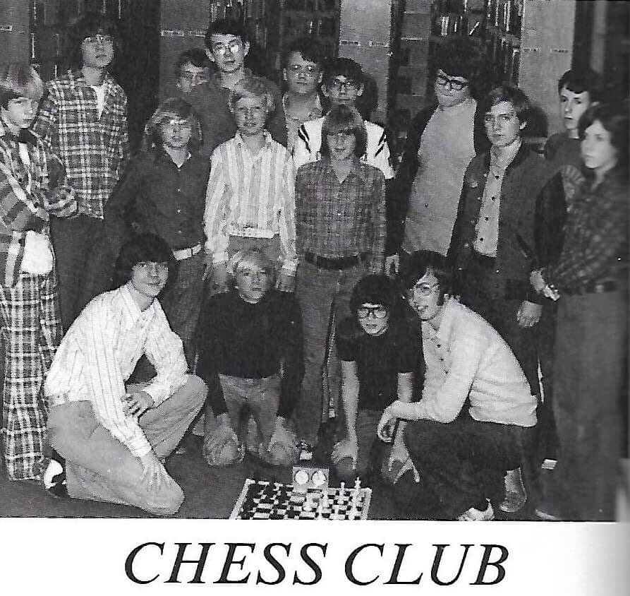 I once was the King of the Nerds! #chessclub #ferncreekhighschool #elvis