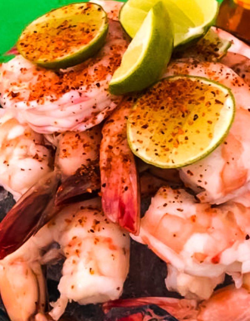 A base de #camarón cualquier receta es buena para este #14deFebrero. Pero ¿qué tal una botana así para abrir mesa? #LaCasaDelCamarón, #LoTenemosTodo. Talamante y Abasolo.  642 149 9016 pic.twitter.com/X5wicWEeUO