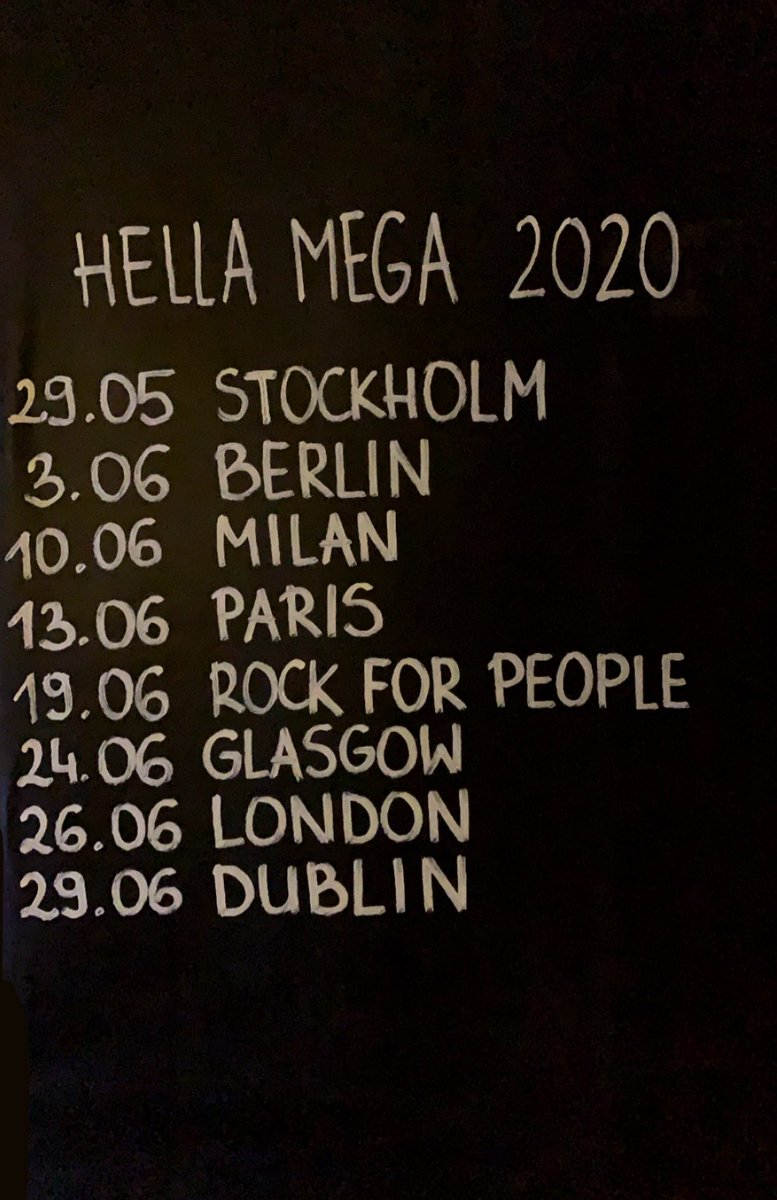 Replying to @amonstergd: plans for 2020? well.. @HellaMegaTour @GreenDay